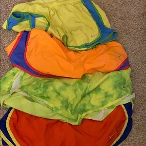 Nike Running Shorts- Size M bundle